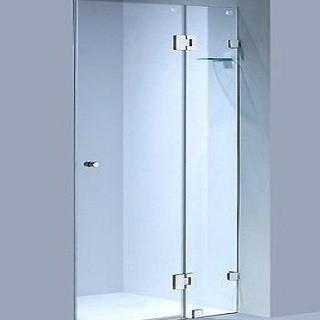 wall to wall frameless shower fronts