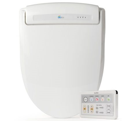 wireless electronic bidet seat